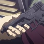 三日月の銃